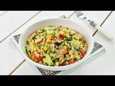 Salata de quinoa cu leurda - reteta video | JamilaCuisine