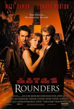 Rounders (1998) movie #poster, #tshirt, #mousepad, #movieposters2