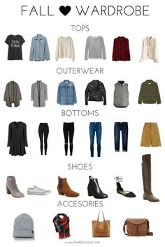 Fall Wardrobe Essentials. Fall Capsule Wardrobe 2016. Fall 2016. Fall Outfits. Fall Clothes. Autumn Capsule Wardrobe Essentials.