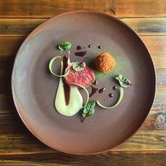 Dry aged beef yukon gold foie gras by thechefoutwest