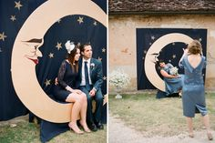 Marie-Claire & Luke's Bergerac Wedding Prom Backdrops, Backdrops For Parties, Diy Photo Booth, Photo Booth Backdrop, Star Wedding, Dream Wedding, Themes Photo, Decoration Inspiration, Event Planning Design