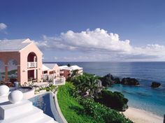 Hotel -- The Reefs in Bermuda. Made the Conde Nast Traveler's Gold List 2013.