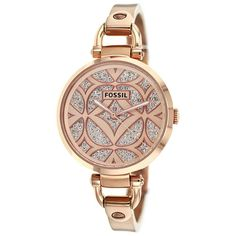 8b74a29c2c2 Fossil Women s Georgia ES3422 Rose-Goldtone Stainless Steel Quartz Watch