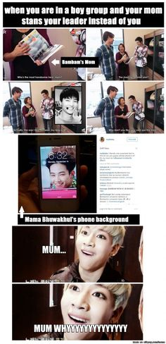 Bambam's mom is hilarious LMAO | allkpop Meme Center