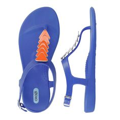 Florida Gator Gameday sandals. Spice up your look with the Oka-B sandal.