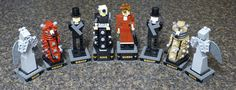 Doctor Who Lego Chess Set