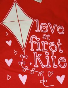 .Love at first kite !