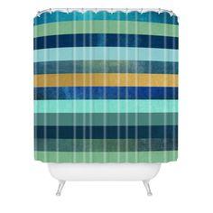 Elisabeth Fredriksson Ocean Deep Shower Curtain | DENY Designs Home Accessories
