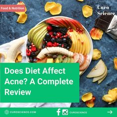 Effects on acne Food Log, A Food, Burger And Fries, Anti Inflammatory Diet, Balanced Diet, Fruits And Vegetables, Vitamin E, Nutrition, Eat