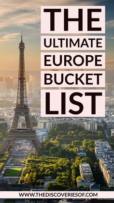 In need of some Europe travel inspiration? Don't miss these AWESOME European travel destinations. 100 cool places to visit in Europe - guaranteed to fuel your wanderlust! inspiration 100 Amazing Places to Visit in Europe for your Travel Bucket List Europe Destinations, Europe Travel Tips, Travel Goals, European Travel, Italy Travel, Travel Usa, Europe Places, Travel Hacks, Girl Travel