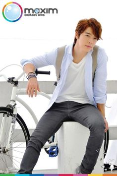 Donghae - Maxim contact lens