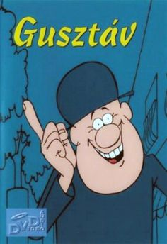 Gustav, 60s Hungarian cartoon created by Joszef Népp.