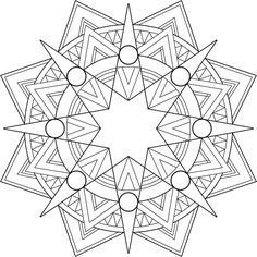 Print mandala coloring pages best printable mandalas to color free images on this is ivory tower Pattern Coloring Pages, Printable Coloring Sheets, Printable Adult Coloring Pages, Mandala Coloring Pages, Free Coloring Pages, Coloring Books, Mandalas Drawing, Mandala Painting, Dot Painting