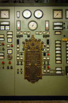 Control panel for boiler 14	  by Explorer Björn