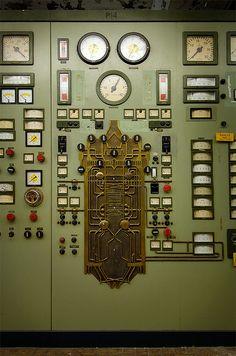 Control panel for boiler 14  by Explorer Björn