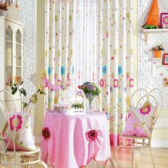 Floral Country  Kids Curtains  #kids #curtains #homedecor #nursery #custommade Home Curtains, Kids Curtains, Curtain Ideas, Nursery, Country, Floral, Home Decor, Decoration Home, Rural Area