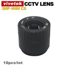 """10pcs 4MM 3Mega Pixel IP Camera Lens CS IR Metal CCTV Lens 1/2.5"""" format, F1.4 aperture Digital Guru Shop"""