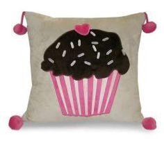 cupcake pillow $31