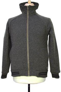 c32c7a08def7 Nigel Cabourn Peak Performance Collaboration green fleece jacket