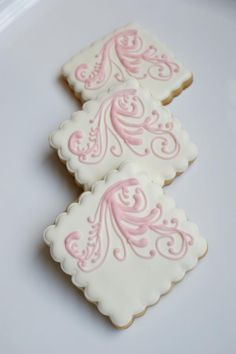 Beautiful decorations on a sugar cookie base