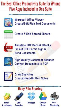 best free office suite for iphone