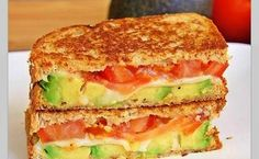 Question: Is there anything more simply satisfying than a well-done grilled cheese made with quality ingredients? Answer: No. No, there is not. Add in avocado and tomato, and you have a sandwich that combines almost all of our favorite filling and tasty...