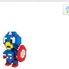 Diamond Nano Block Captain America