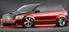 Dodge Caliber modified