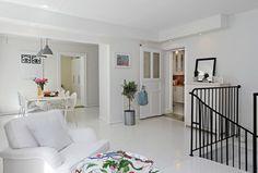 Smart Color in Urban Swedish Two - second floor design