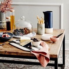 Blush and navy a beautiful combination, on our Filigree coffee table. See it in the June issue of @houseandgarden magazine. Styling by @kaylagex Photography by @willhornerphoto www.provincialhomeliving.com.au