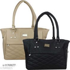 Checkout this latest Handbags Product Name: *Ravishing Stylish Women Handbags* Material: PU No. of Compartments: 2 Pattern: Self Design Type: Handbag Set Multipack: 2 Sizes:Free Size (Length Size: 12 in, Width Size: 2 in, Height Size: 10 in)  Country of Origin: India Easy Returns Available In Case Of Any Issue   Catalog Rating: ★4 (290)  Catalog Name: Gorgeous Attractive Women Handbags CatalogID_2214039 C73-SC1073 Code: 274-11708677-6141