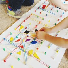 Make a DIY Geoboard - Twodaloo