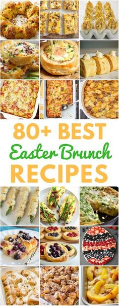 80 Best Easter Brunch Recipes