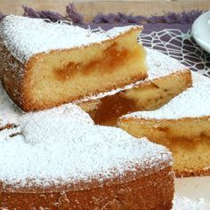 CAKE PAID how to make the cake with filling that falls to the bottom Bakery Recipes, Dessert Recipes, Cooking Recipes, Italian Desserts, Italian Recipes, Sweet Cooking, Torte Cake, Cake Fillings, Biscotti