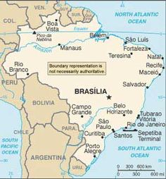 Brazil.  To get to here from Bolivia see Lonely Planet's pre-designed itinerary for ideas  http://www.lonelyplanet.com/bolivia
