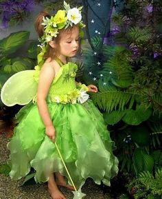 Fairy Costume  Flower Girl  Little Meadow Faerie  by FairyNanaLand, $165.00