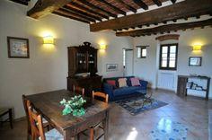 A living room of La Fattoria del Rio di Sopra. Agriturismo in Umbria. Lago Trasimeno