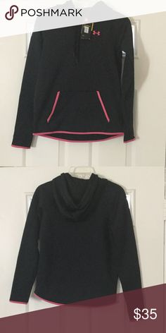 NWT Under Armour hoodie new cold Gear Under Armour small hoodie Under Armour Sweaters