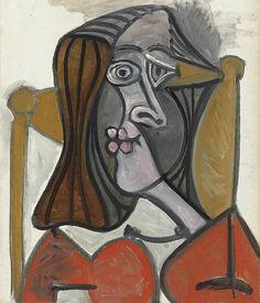 Pablo Picasso, Femme au fauteuil (1949)