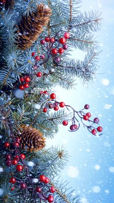 Pretty :) the most beautiful wallpapers for smartphones are the ones with christmas tree branches in the background. Any decorative elements will do well here because Christmas ornaments are perfect for . Christmas Scenes, Noel Christmas, Christmas Pictures, Winter Christmas, Vintage Christmas, Christmas Crafts, Christmas Decorations, Christmas Ornaments, Xmas