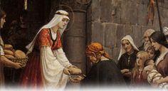 Oração a Santa Isabel para ter bem-estar material