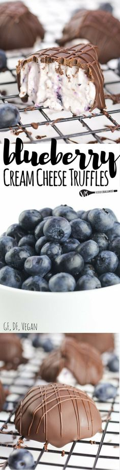 Blueberry Cream Cheese Truffles recipe sounds amazing, right?! What's even more incredible? Only 4 naturally sweet ingredients!