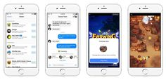 Facebook Messenger adding games like Pac-Man Galaga and Words with Friends