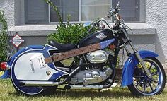 A custom motorcycle picture and modified bike pic of a chopper shaped like a guitar. This Harley Davidson show vehicle is something to see. Custom Motorcycles, Custom Bikes, Cars And Motorcycles, Harley Motorcycles, Motorcycle Rallies, Motorcycle Bike, Rat Rods, Cookies In Bloom, Bike Pic