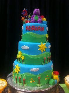 The birthday cake