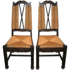 Pair of 1940's Side Chairs Attributed to Maxime Old