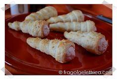 CANNONCINI CON MOUSSE DI MORTADELLA fragolaelettrica.com Le ricette di Ennio Zaccariello #Ricetta