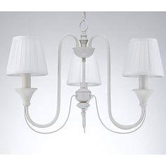 European Style Elegant 3 Lights Chandelier In Painting Processing - AUD $ 178.16