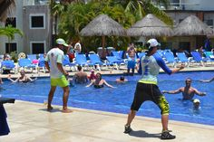 Come and #Enjoy our #Amazing #Pool #Activities #SandosCaracol