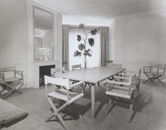 A California dining room by Jean-Michel Frank